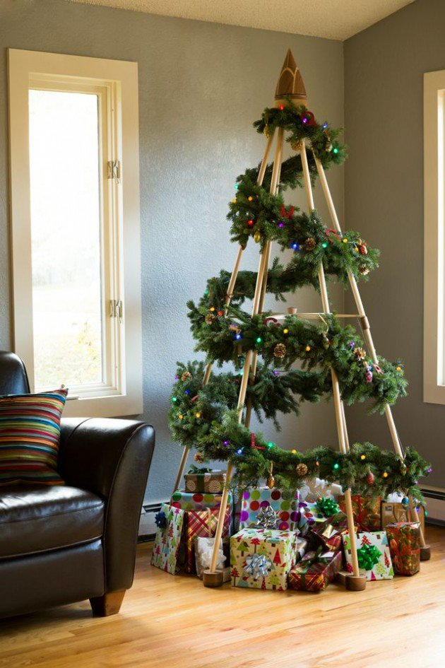 Unique DIY Christmas Tree Thewowdecor