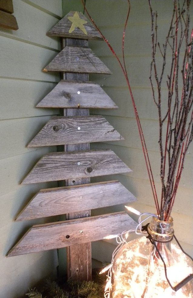 Wood Pallet Christmas Tree Thewowdecor