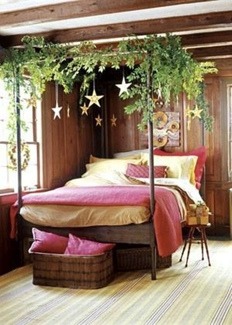 Christmas Bedroom Decor Ideas thewowdecor (16)