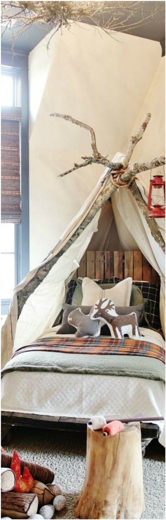 Christmas Bedroom Decor Ideas thewowdecor (33)