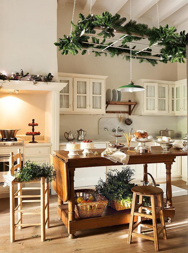 Christmas Kitchen Decor Idea design