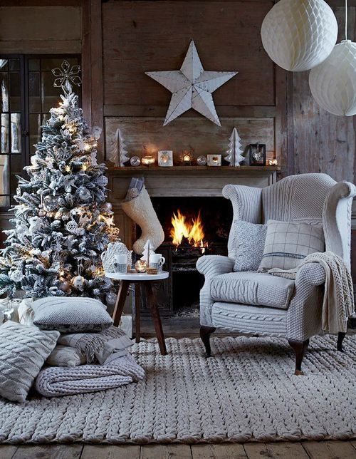 Christmas Living Room Decor Ideas thewowdecor (19)