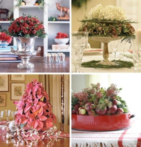 Christmas Table Centerpiece Ideas thewowdecor (8)