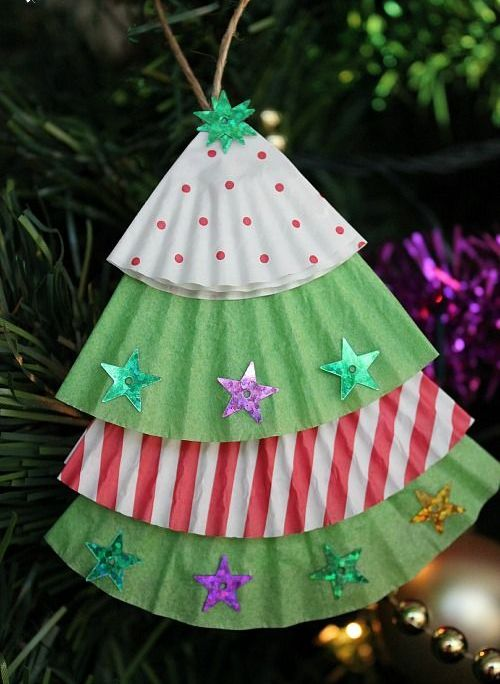 Christmas Tree Ornaments to Make for Kids