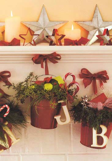 Country Style Christmas Decorating Ideas