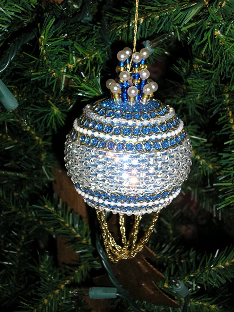 Homemade Christmas Tree Ornament idea
