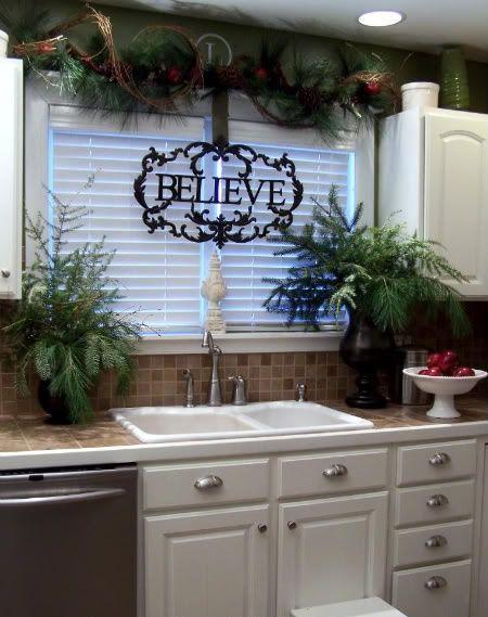 Kitchen Christmas Decoratings
