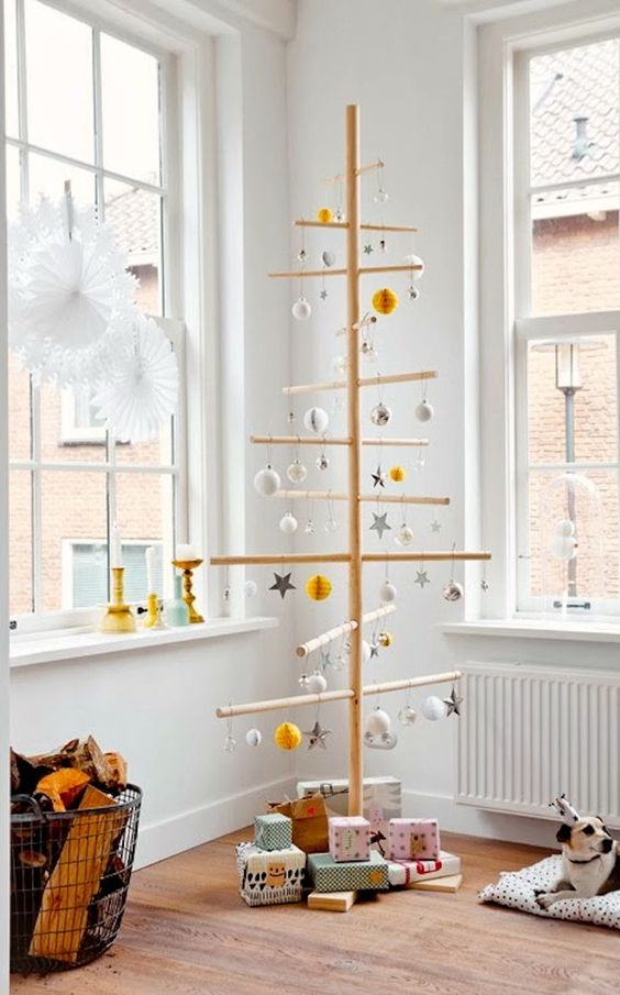Modern Christmas Tree Ideas (17)