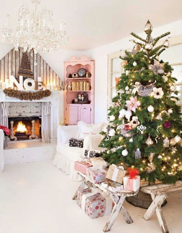 Pinterest Country Christmas Decorating Ideas