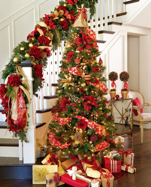 Red Christmas Decoration Ideas thewowdecor