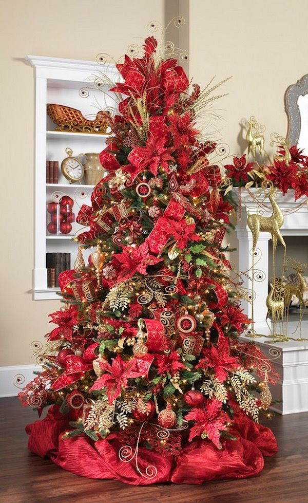 Red Christmas Decoration thewowdecor