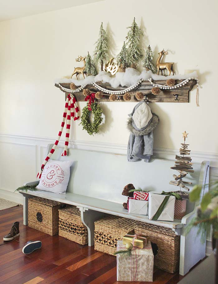 Rustic-Country Christmas Decorating Ideas thewowdecor