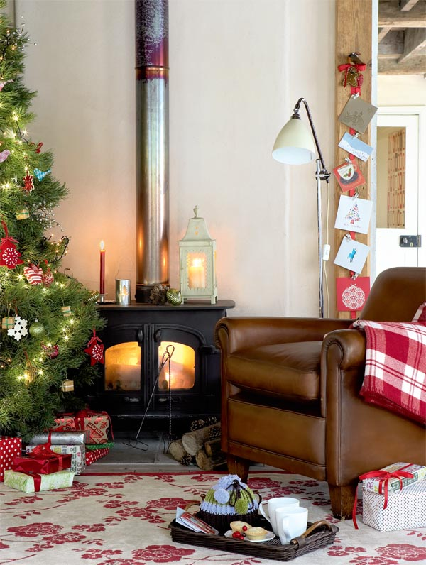 Vintage Country Christmas Decorating Ideas