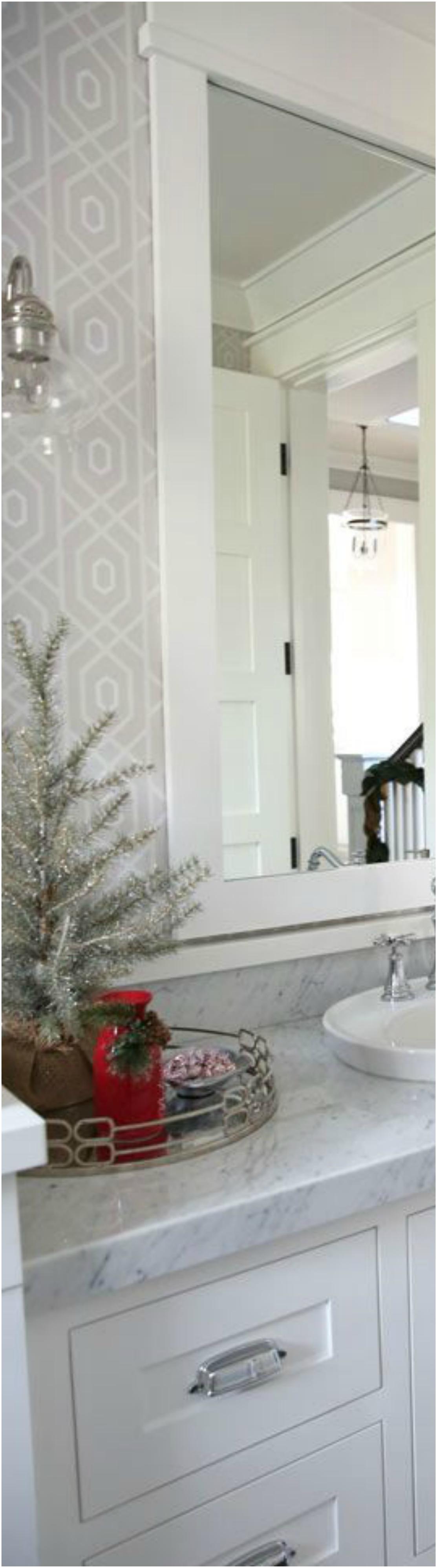 Bathroom Christmas Decoration Ideas (6)