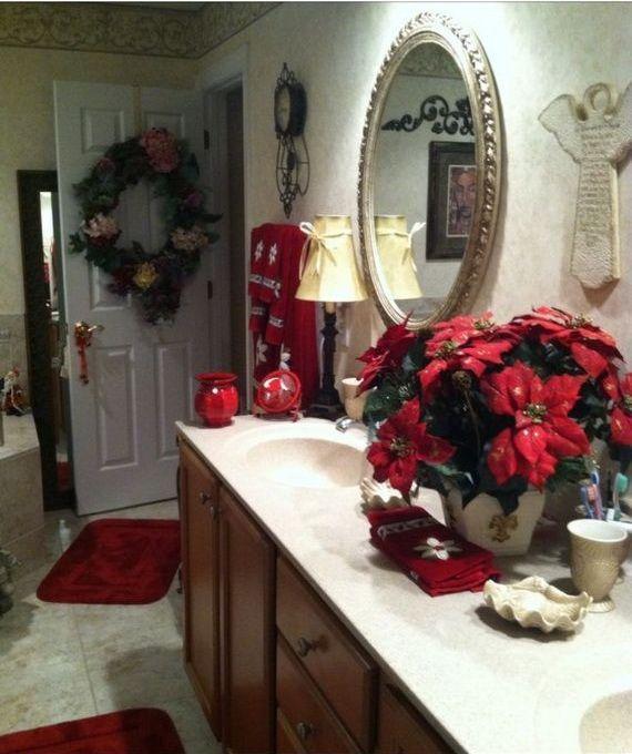 Christmas Bathroom Decorating Ideas