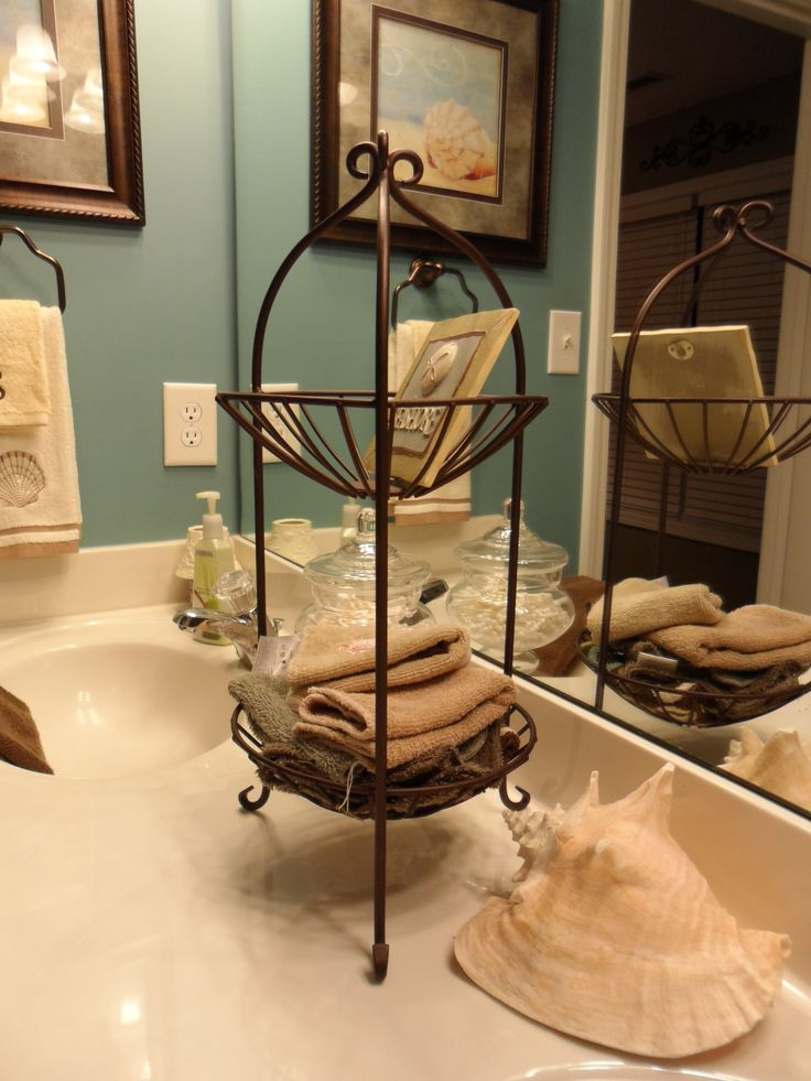 Guest Bathroom Decor Idea