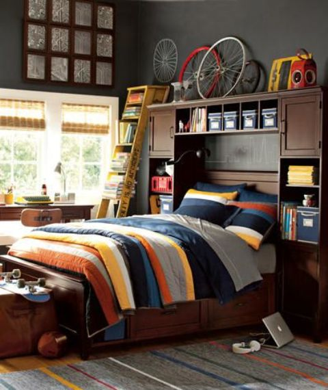 Teen Boys Room Design Ideas (4)