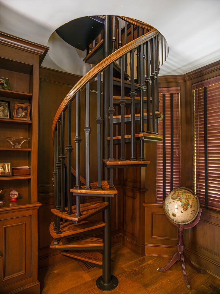 Wooden Spiral Staircase (27)