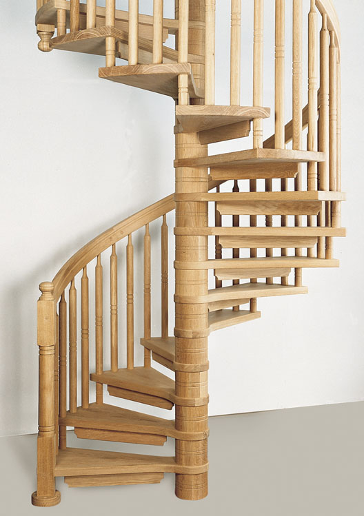 Wooden Spiral Staircase (3)