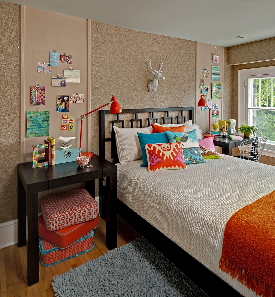 Eclectic Style Teens Bedroom Thewowdecor