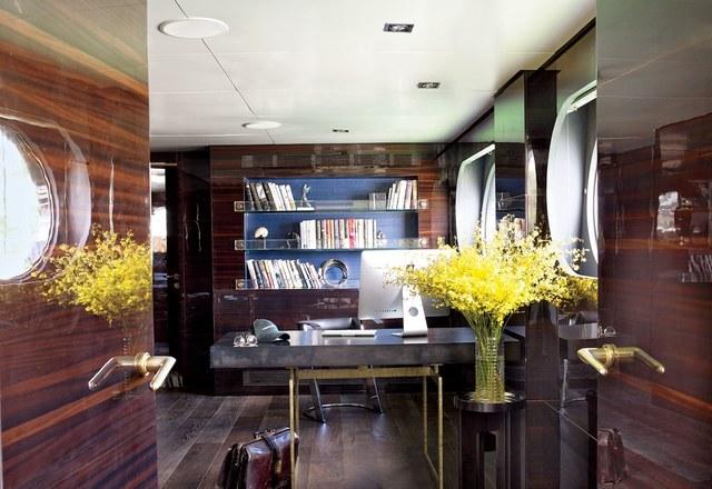 Office Inside Yacht Thewowdecor