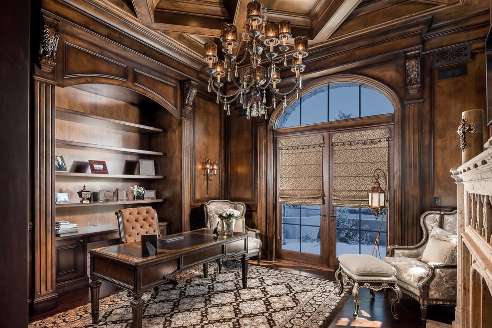 Royal Mediterranean Style Home Office Thewowdecor