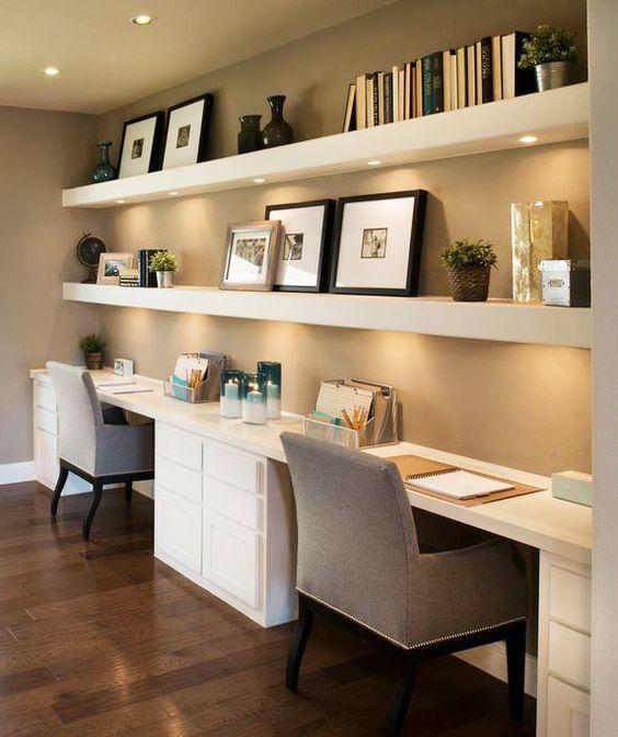 Subtle Home Office Design Thewowdecor