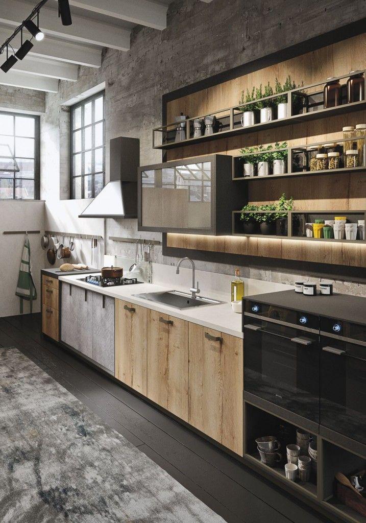 Amazing Industrial Kitchen Design
