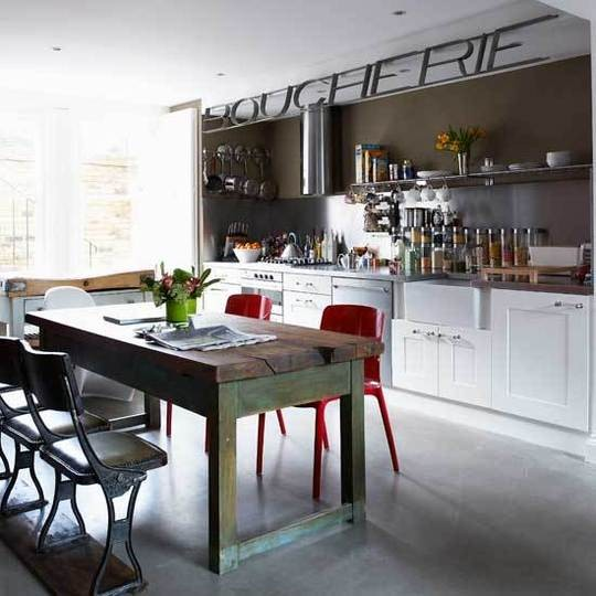 Cool Industrial Kitchen Designs