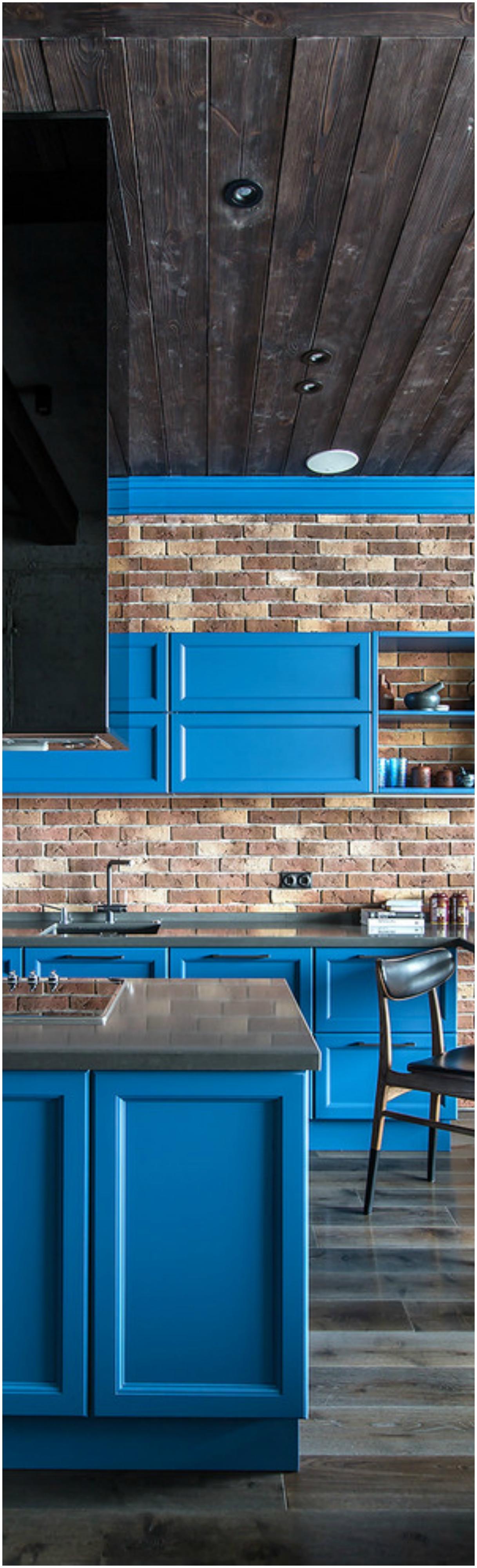 Loft-style-industrial-kitchen