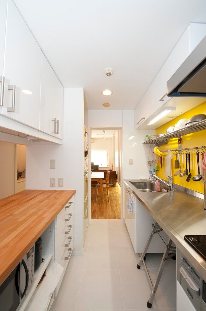 industrial-galley-kitchen