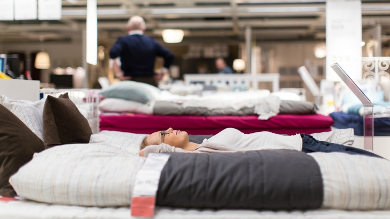 Test the mattress you buy