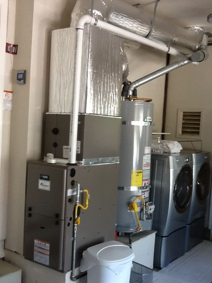 Energy efficient gas furnace