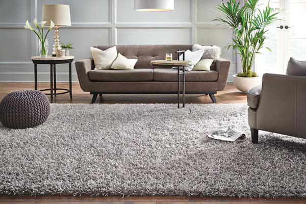 Pick A Neutral Tone Shag Rug To Keep Things Basic