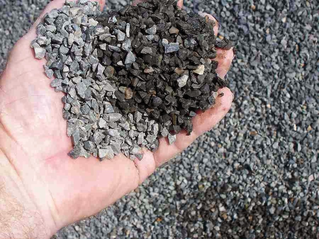 The Mixing Process Of Aggregates
