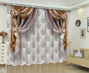 Curtain Drapes Can Reduce Heat Loss and Preserve Your Furniture