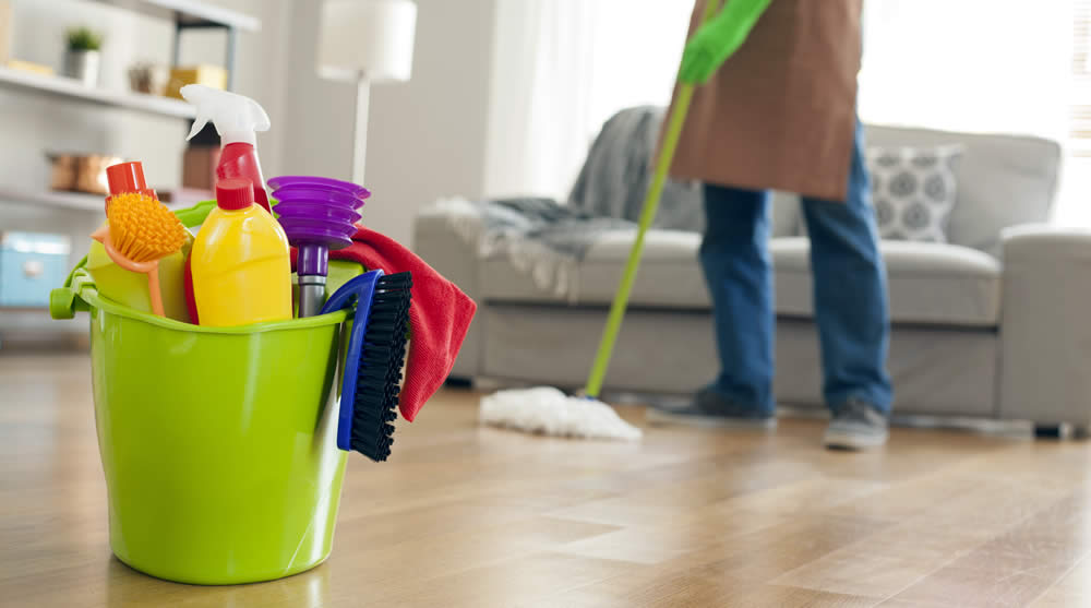 Hire a Cleaning Service