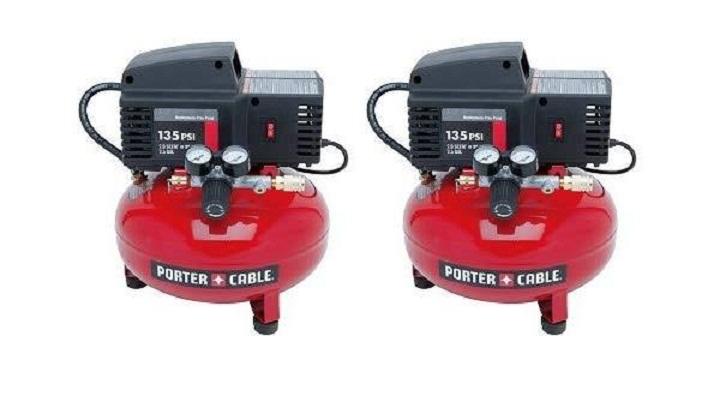 Porter cable PCFP02003 pancake compresso