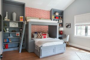 Tips on How to Perfectly Set Up Kids Small Bedroom Using Bunk Beds