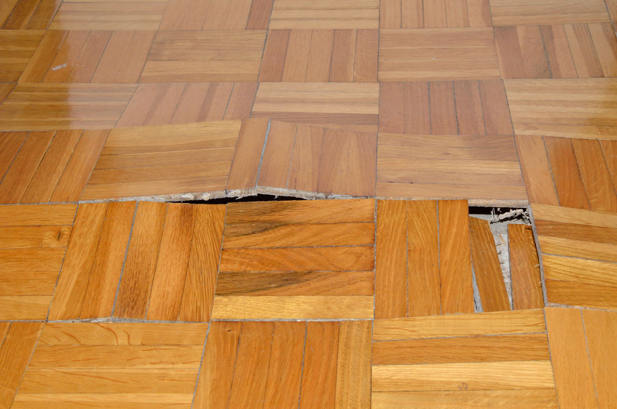 Uneven Floor of Your House