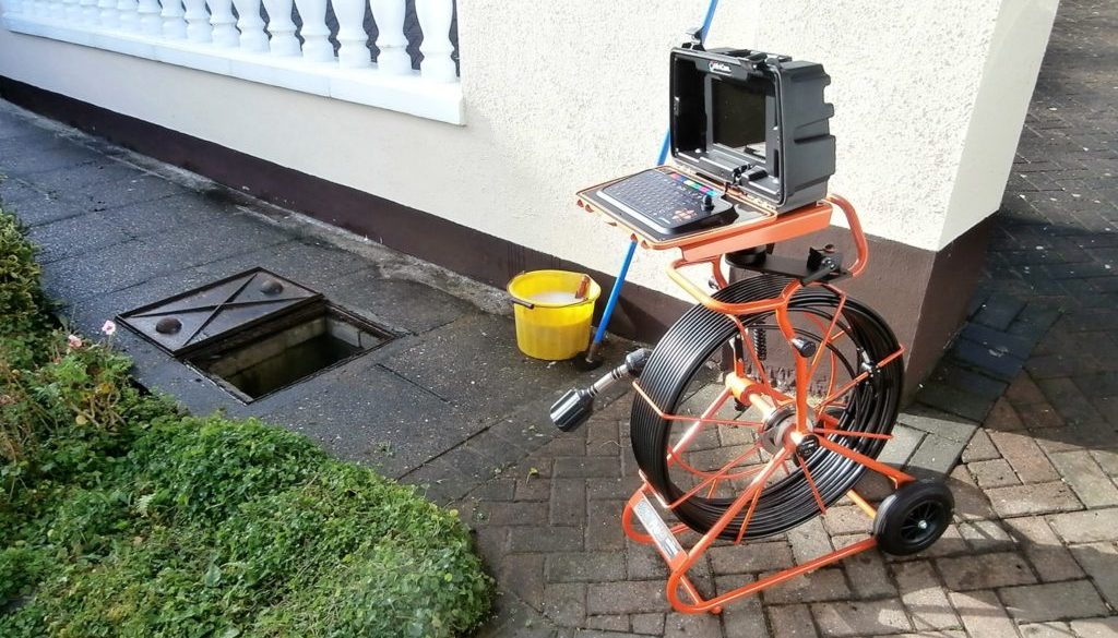 CCTV drain survey services