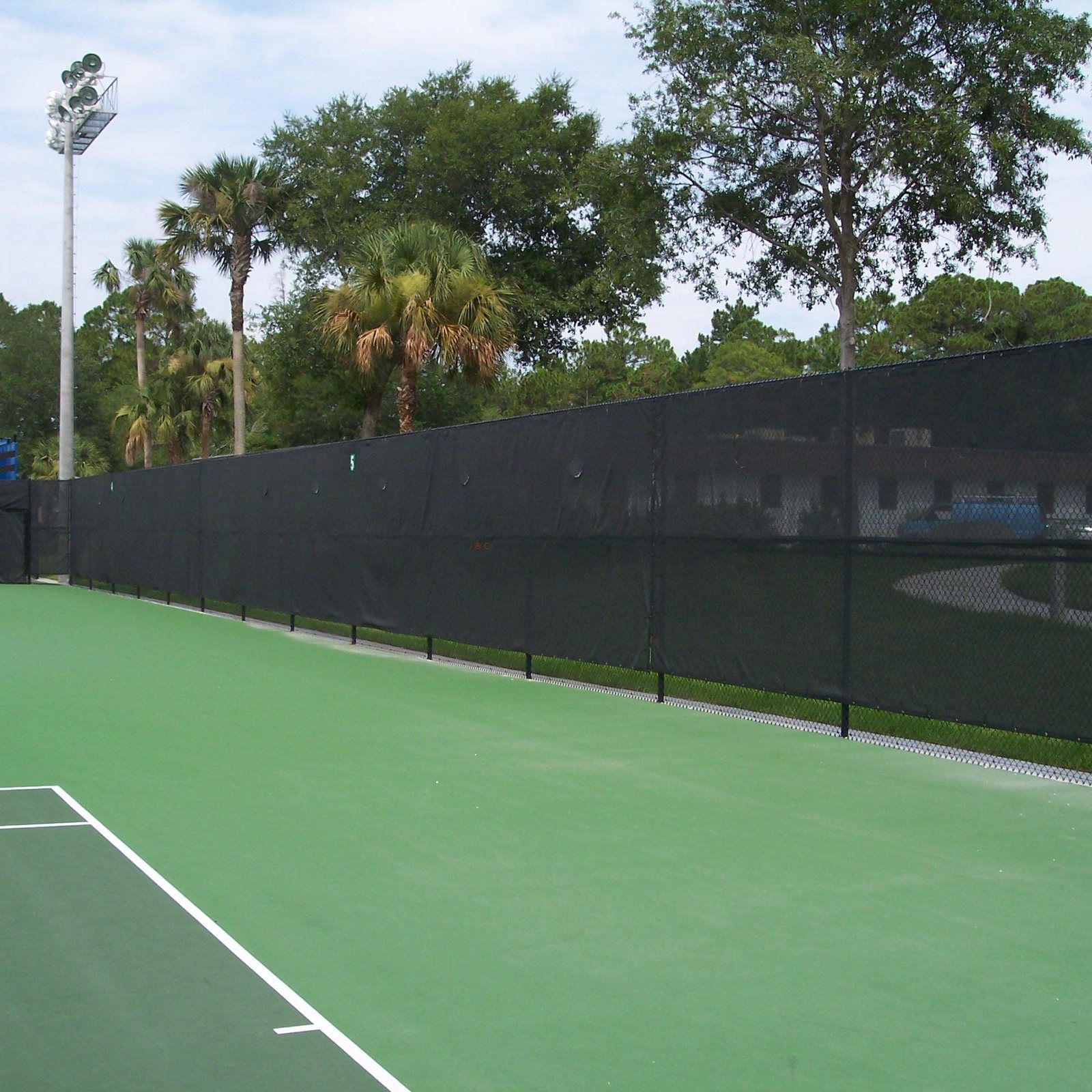 Fencing the Tennis Court
