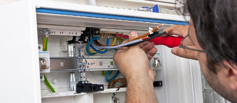 Overtaxed Electrical Wiring