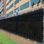 Construction Commercial Privacy Screen Fence