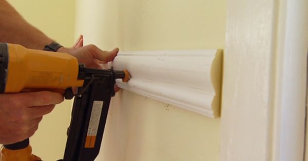 Installing Picture Rail Molding
