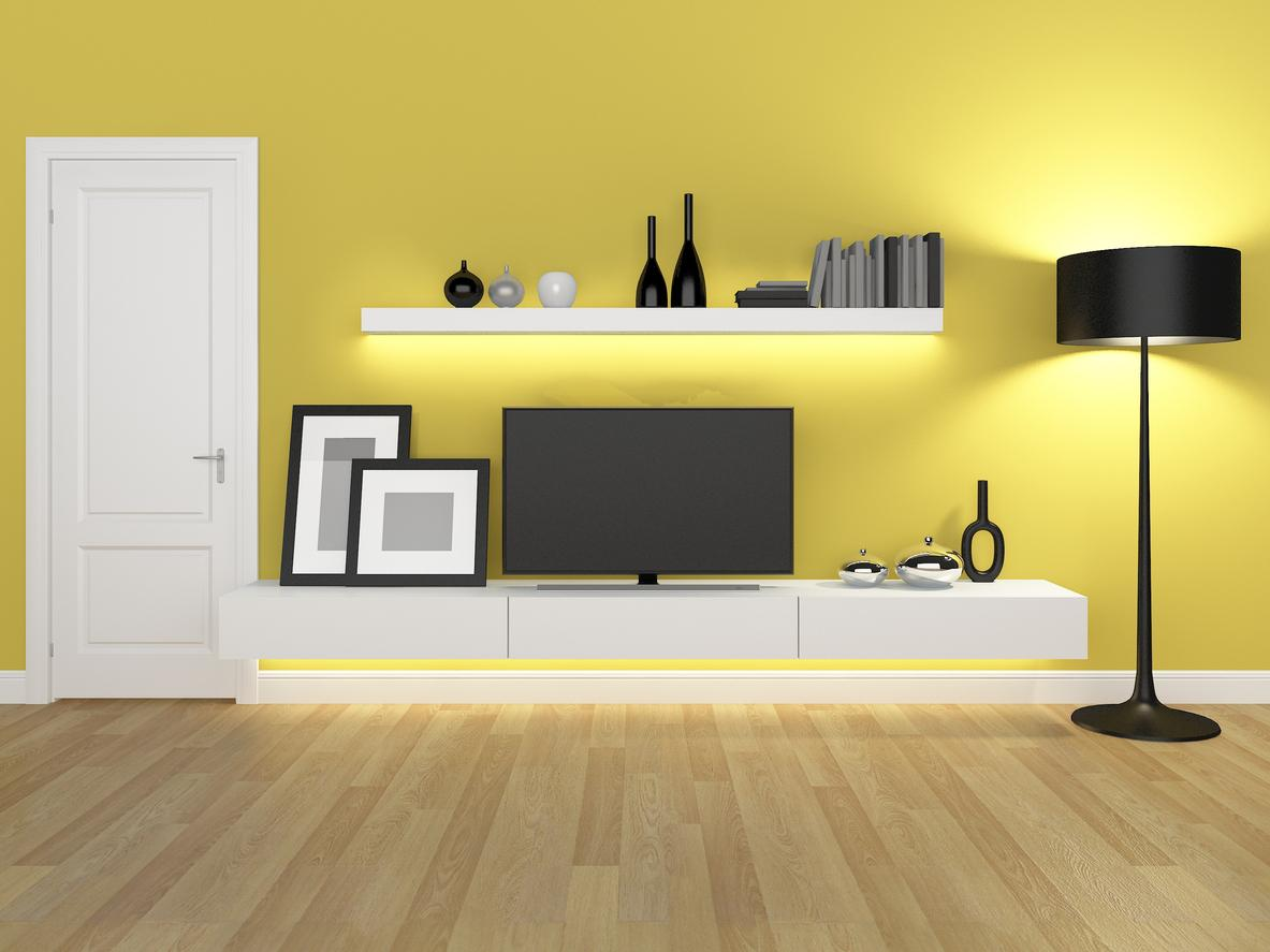 Minimalist Entertainment Centers