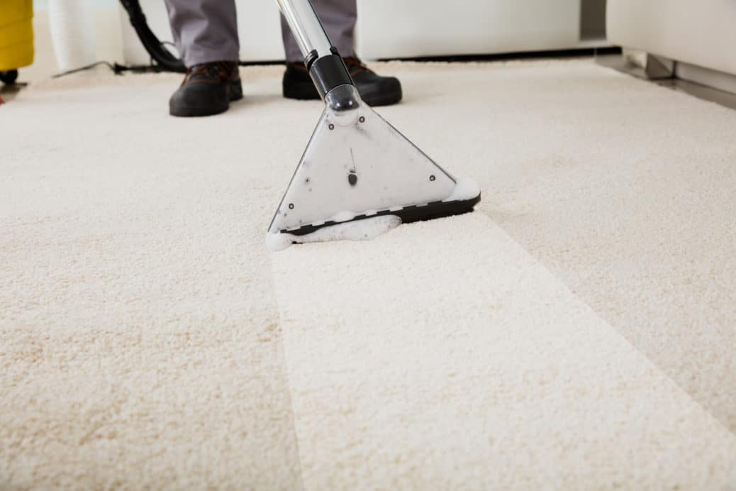 Sanitize Your Baseboard and the Carpet Beneath