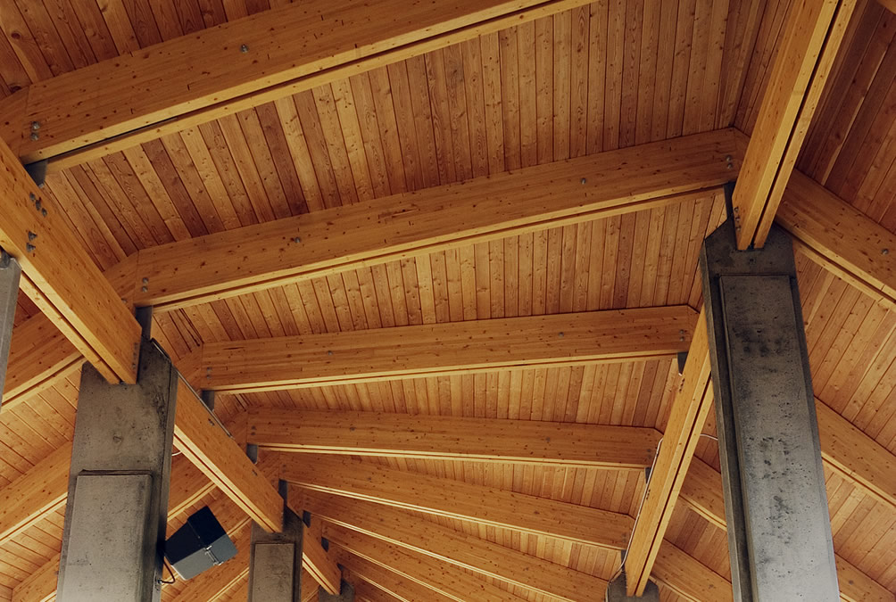 Use Glulam for Column Applications