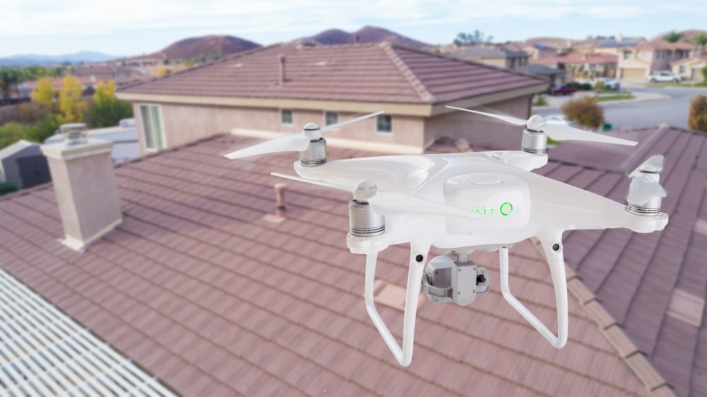 Drone Services for Roof Inspections