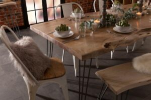The Fascination with Live Edge Dining Tables